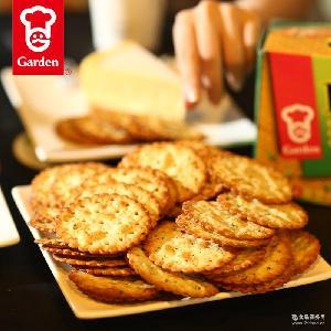 嘉顿-香葱薄饼包香葱味咸饼干下午茶零食饼干