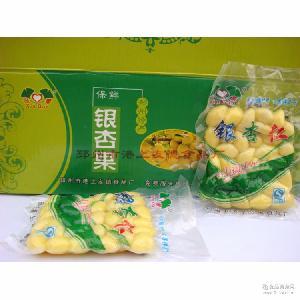 厂家直销真空保鲜优质银杏仁批发新鲜白果仁健康无糖食品30袋/箱