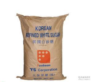 30kg/包 韩糖 TS韩国白砂糖幼砂糖精制白糖大韩制糖