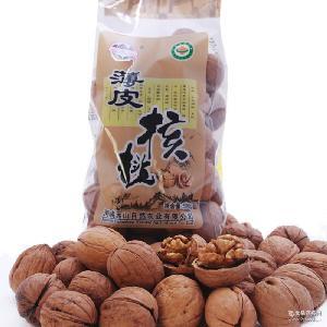 山连山 休闲小吃零食坚果干货厂家批发 包邮500g 有机薄皮核桃