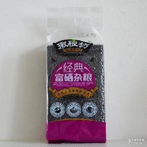 会销礼品 大米厂家直销 富硒食品 徽粮坊 富硒紫米 有机大米批发