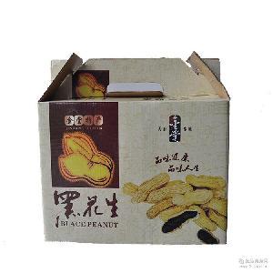 产地直销黑花生 四川特产 食品供应 礼盒装黑花生批发 富硒黑花生