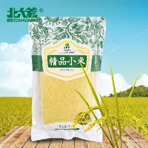 北大荒精品小米970g小米五常稻花香大米稻花香花米优质有机大米