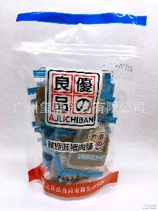 批发供应台湾优之良品炭烧猪肉味肉脯90克 24袋一箱