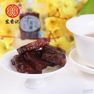5斤 香辣 黑胡椒 袋 福建特产零食宏香记牛肉棒 原味 牛肉条