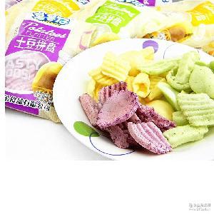 胡氏鲁鲁仔5角土豆拼盘 香脆膨化 小卖部零食批发 一件一味