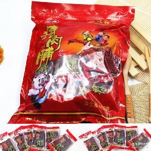 靖江猪肉脯原味小正片 彩袋装450g独立小包 厂家直销批发