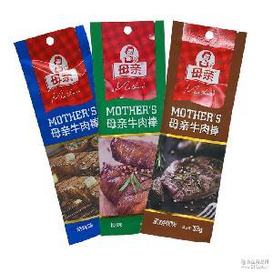 32g母亲牛肉棒烧烤原味黑胡椒口味齐1*40袋精选牛肉休闲零食新品