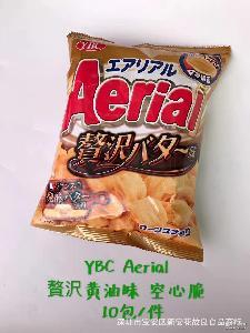 日本零食 YBC空心脆膨化薯片 浓厚芝士玉米味70g 纳贝斯克空心脆