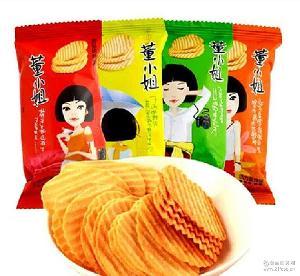 独立包装一箱5斤 多种口味 小王子董小姐薯片散装非油炸膨化薯片