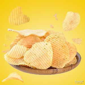 子弟土豆片薯片7种口味任选100g黄瓜原味麻辣烤肉儿时膨化零食