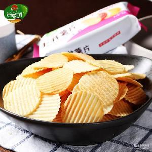 小林薯片45g/袋非油炸膨化食品大礼包办公室休闲小吃零食薯片