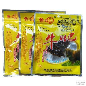 柳城许师傅牛腊巴牛肉干广西柳州特产批发休闲食品零食小吃