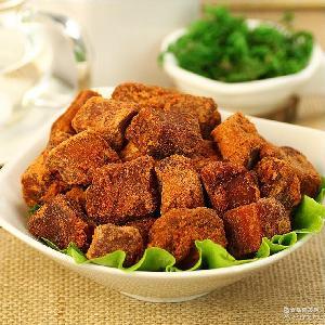 澳门香记正宗特产牛肉干 进口食品零食 五香XO牛肉粒300g/盒批发