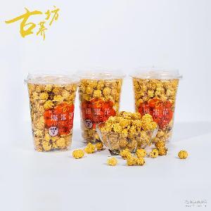 杯装118g古荞坊焦糖味爆米花 电影休闲食品膨化玉米爆米花