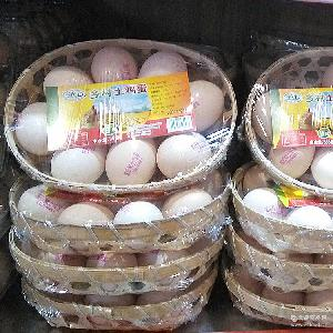 纯散养优质玉米喂养湖北土鸡蛋