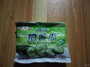清爽拍黄瓜 一件30包*20包 黄瓜味膨化食品清凉薯片 清爽