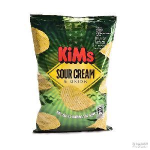 丹麦原装进口今思KIMS薯片休闲零食20*175g多口味选择膨化食品