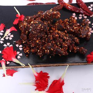 川汉子麻辣牛肉四川特产休闲零食手撕辣条牛肉干