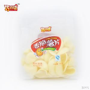 巧玲珑膨化食品小鱼通吃虾条 薯片40g/袋休闲零食满100包邮