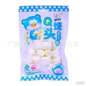 纯白原味棉花糖 盛之花 超市儿童糖果批发 烘焙装饰牛轧糖原料70g
