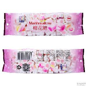 儿童糖果 糖果批发 盛之花130g樱花葡萄味棉花糖 造型糖果