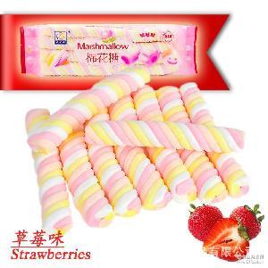 创意糖果 儿童糖果 超市 盛之花130g棉花糖 橡皮糖 糖果