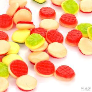 汉堡片Trolli口力散装橡皮糖热销儿童零食软糖QQ糖果2kg/袋批发