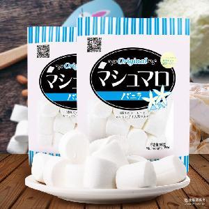 喜顿糖果纯白色棉花糖180g一包装烘焙烧烤批发做牛轧糖