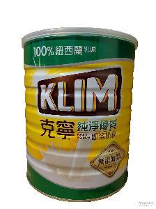 进口新西兰牛奶粉 成人奶粉批发代理 雀巢克宁即溶奶粉2300G