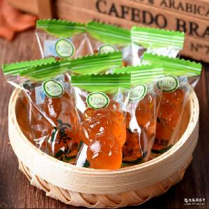 国内*沙棘糖果生产厂家 黑北大自然食品150克寒地沙棘果汁软糖