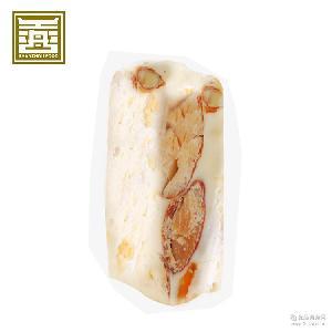 善舟 独立盒装休闲零食手工软糖果一件代发 芒果杏仁牛轧糖200g