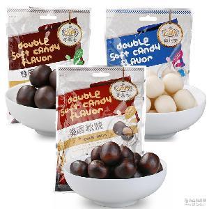 台湾原装进口软糖 奥莱夫巧克力味凝胶儿童休闲糖果商超货源批发