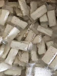 台湾风味纯手工牛轧糖 抹茶 花生 袋 5斤 微商爆款 芝麻三口味