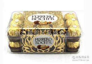 意大利原装进口费列罗榛果威化巧克力30粒装金莎T30