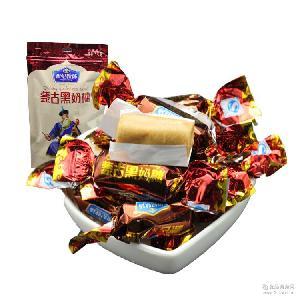美味零食 内蒙古黑奶糖 200g 世纪牧场 老奶糖