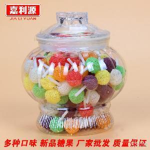 软糖棒棒糖 儿童糖果零食批发 植物胶型凝胶糖果