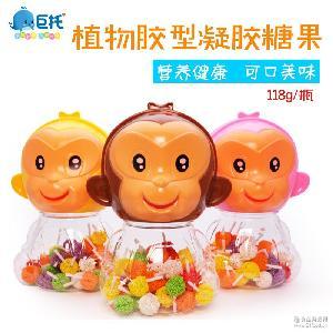 118g/瓶 休闲玩具儿童糖果批发 【孙小猴 棒棒糖 珍珠棒】软糖