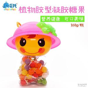 休闲食品 儿童零食厂家 168g/瓶 珍珠棒】玩具糖果 【甜小萌