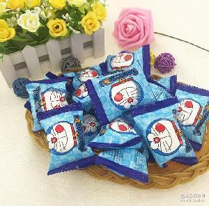 哆啦A梦/Kitty棉花糖 夹心软糖 OMS 进口马来西亚零食 散装500g