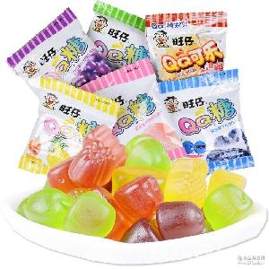 旺旺旺仔QQ糖多种口味23g*20包零食品软糖果汁童年味道儿童特价批