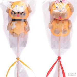 儿童糖果 小狗造型 GERALDO吉豆豆棉花棒棒糖 进口食品