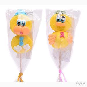 儿童糖果 GERALDO吉豆豆棉花棒棒糖 进口食品小鸡造型