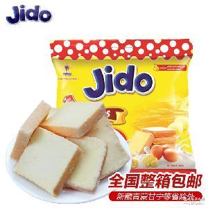 越南进口饼干零食 整箱包邮 JIDO京都鸡蛋面包干300g/袋 批发