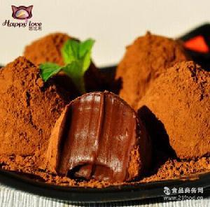 直销哈比利*经典口味手工黑松露巧克力礼盒装特价零食400克