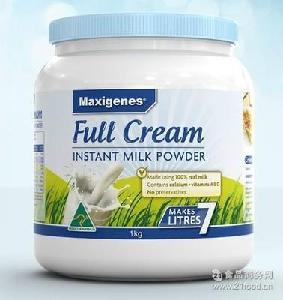 成人奶粉 成人 牛奶粉 澳洲美可卓maxigenes进口奶粉 中老年奶粉
