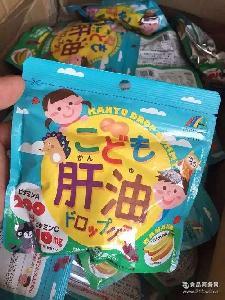 补充营养维生素DHA 日本正品unimat儿童宝宝鱼肝油水果软糖