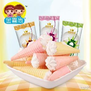 独立包装 散装 【宏冠】休闲儿童零食软糖果大支冰淇淋棉花糖