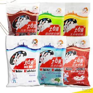 欢迎选购 休闲零食品糖果 六种口味 大白兔奶糖227g