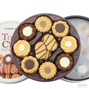 BOURBON布尔本德式什锦奶油曲奇日本零食进口饼干礼盒装